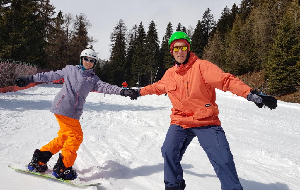 Narty & Snowboard